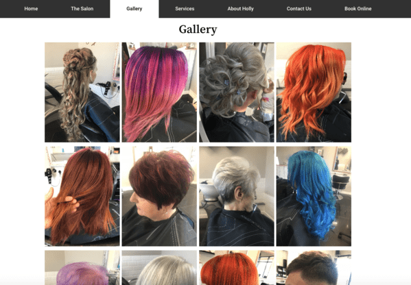 Holly Jayne Hair Gallery